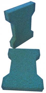 Gummi Pflastersteine Fallschutz