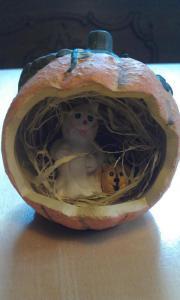 Halloween Kürbis zur