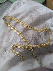Halsketten und Ohring Modeschmuck