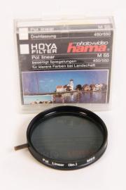 Hama Polfilter-Polarisationfilter linear Ø 55-Nr