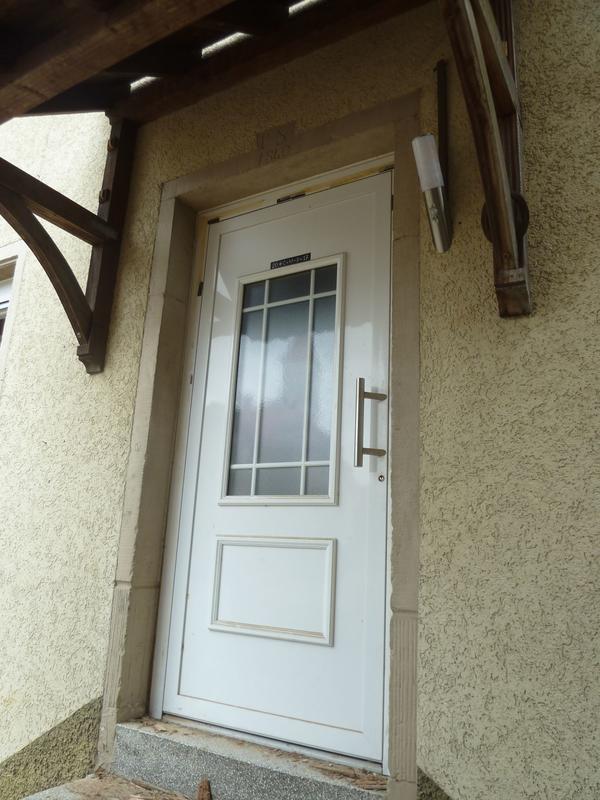 Haustüre Weiß haustüre aus kunststoff in weiß in waibstadt türen zargen tore