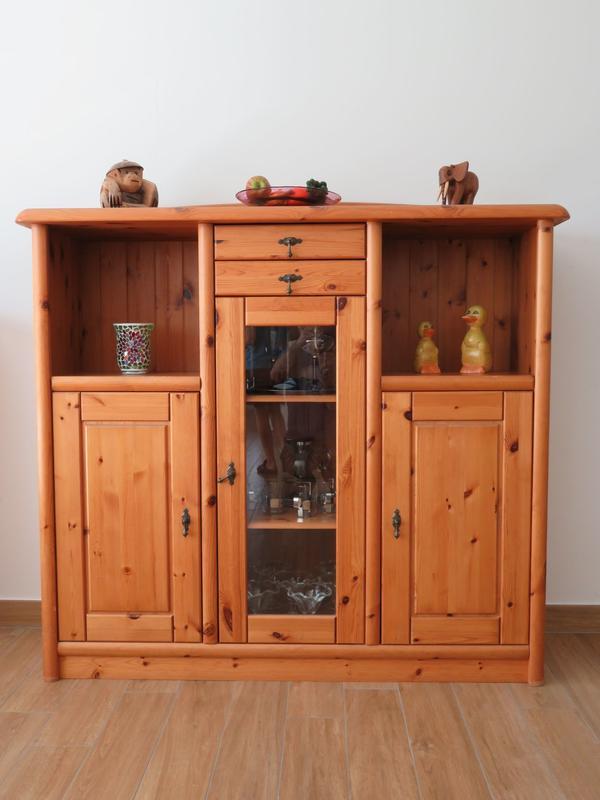 highboard massiv neu und gebraucht kaufen bei. Black Bedroom Furniture Sets. Home Design Ideas