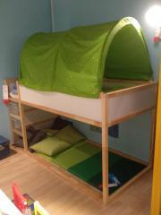 Hochbett Ikea ( Kura ) in Stutensee - Kinder-/Jugendzimmer kaufen ... | {Kinderhochbett ikea 80}