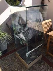 Hochterrarium Glas auf
