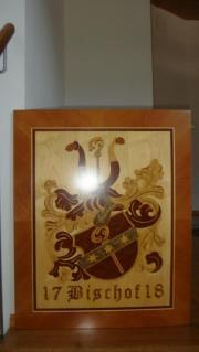 Hochwertiges Wappen mit heimischen und