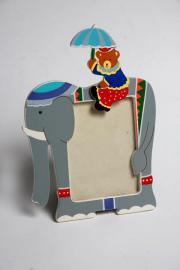 Holzbilderrahmen-Fotorahmen-Baby-Kinder-Elefant