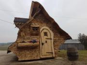 Holzhütte - Gartenhütte - Hexenhäuschen