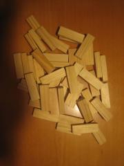 Holzklötzchen