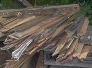 Holzpfähle, Bretter, Zaunholz,