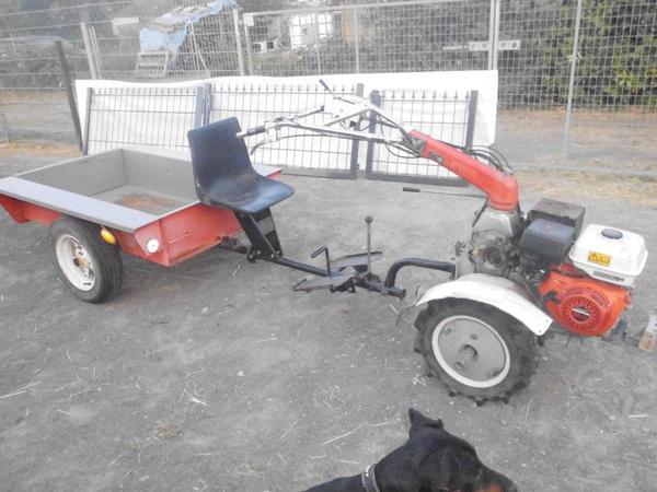 Honda F 800 » Traktoren, Landwirtschaftliche Fahrzeuge