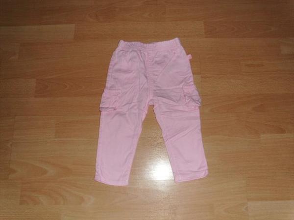 Hose rosa mit kleinen Beintaschen