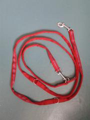 Hundeleine rot-blau