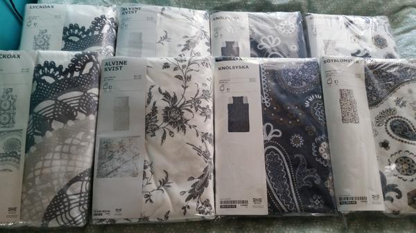 ikea bettwasche andrea gebraucht kaufen nur 3 st bis 75 g nstiger. Black Bedroom Furniture Sets. Home Design Ideas