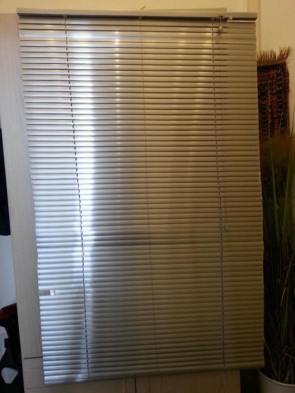 Ikea Jalousien ikea jalousie ii alu silber 100 x 160 cm mit schnur kurbelansatz