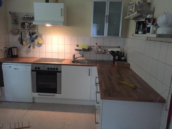 Ikea Küche mit Geräten in Wiesbaden - Küchenzeilen, Anbauküchen ...