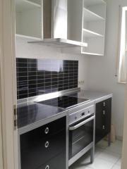 gebraucht küche ikea udden schwarz incl herd & kühlschr in 87435 ...