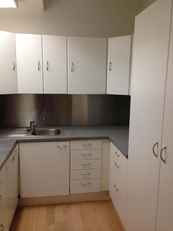 Ikea Küche, U-Form, Zustand gut, war in Büro. Weisse Fronten in Karlsruhe - Küchenzeilen ...
