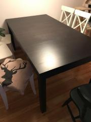 Tischplatte ikea schwarz  Ikea Tisch. Stunning Gut Erhaltene Kche Von Ikea Tisch Sthle Und ...