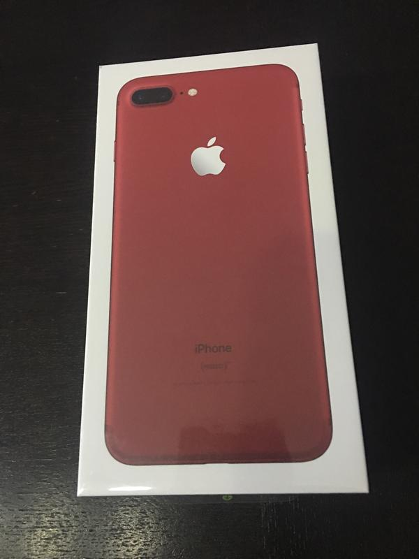 iphone 7 plus 128gb red edition neu in hard apple iphone. Black Bedroom Furniture Sets. Home Design Ideas