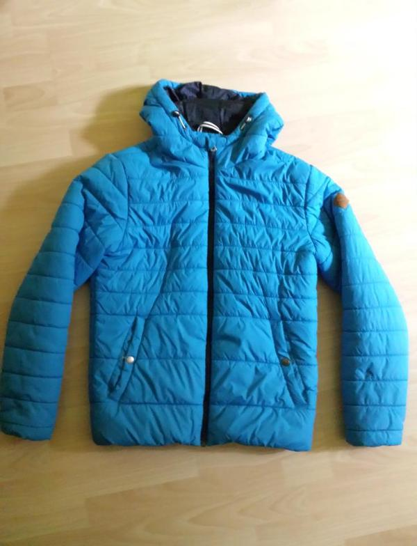 sneakers for cheap 83f13 0b3a1 Jack & Jones Jacke, Gr. M, blau, Herren, Übergangsjacke ...