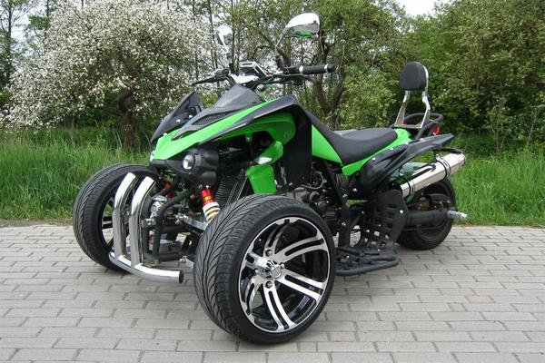 jinling trike quad speedtrike 250 cc carbon rennquad rot gr n speedslide atv utv in hameln. Black Bedroom Furniture Sets. Home Design Ideas
