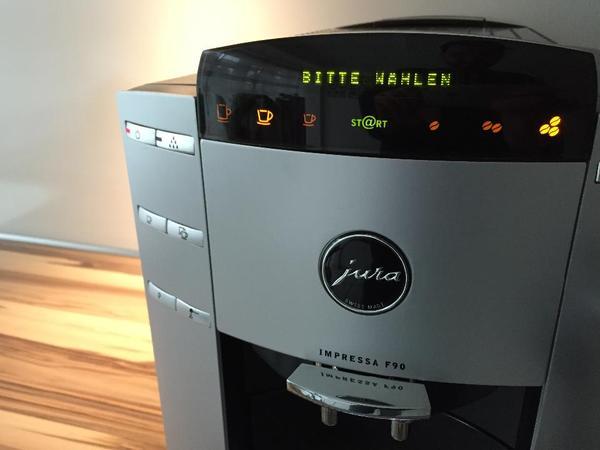 Kaffeemaschine Oder Kaffeevollautomat = jura impressa f90 kaffeemaschine kaffeevollautomat