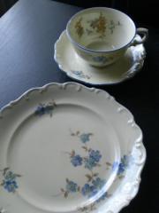 Kaffeeservice Schumann Porzellan aus den