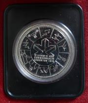 Kanada 1 Dollar 1978 Silber Commonwealth Games Edmonton In Speyer