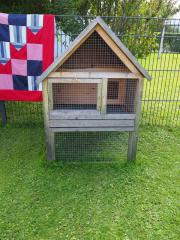 Kaninchenstall 3 Geschosse