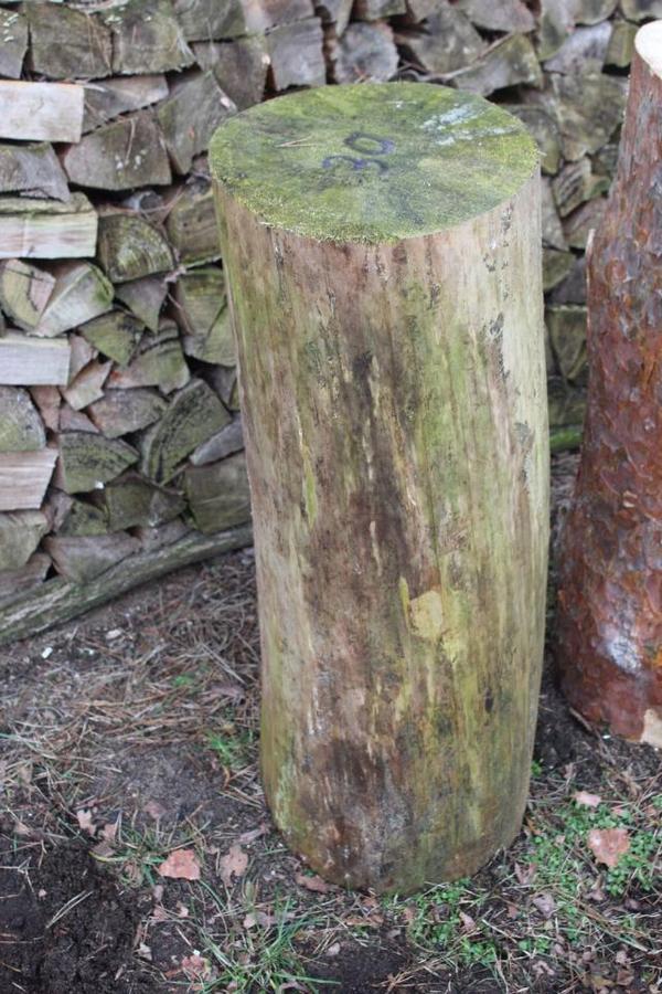 Kiefern-Hackklotz 30er für Brennholz klein