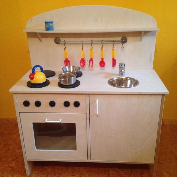 kinder-spielküche aus holz. top. in au - holzspielzeug kaufen und