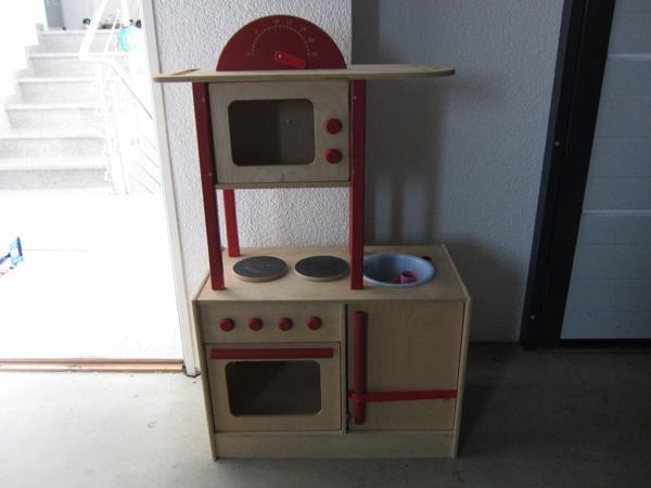 kinderkuche holz gebraucht kaufen nur 2 st bis 60. Black Bedroom Furniture Sets. Home Design Ideas