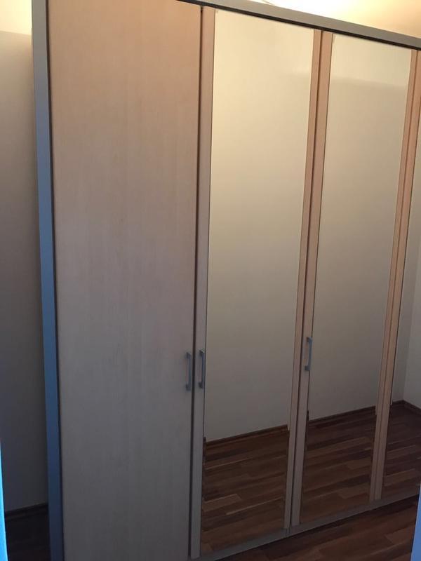 Kleiderschrank 5 türig Spiegel Ahorn SEGMÜLLER *TOP* in Sandhausen ...