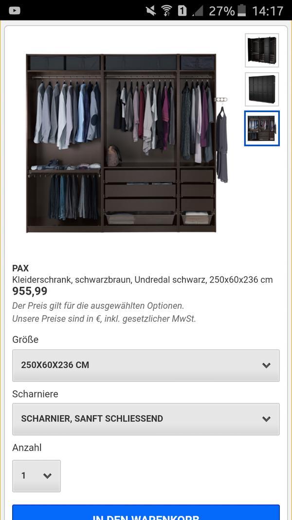Berühmt Kleiderschrank Kirschbaum Gebraucht Fotos - Die besten ...