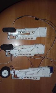 Komplettfahrwerk Eletr. für