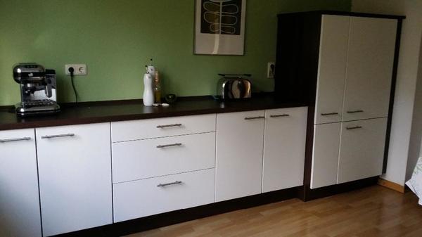 küche - 2 zeilen, neuwertig, weiß in aachen - küchenzeilen ... - Küche Aachen