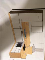 Küche inkl. Elektrogeräte