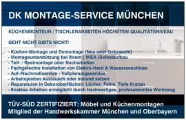 KÜCHEN MONTEUR IKEA KÜCHENMONTAGE - MONTAGESERVICE - TRANSPORT: Kleinanzeigen aus München Solln - Rubrik Küchenzeilen, Anbauküchen