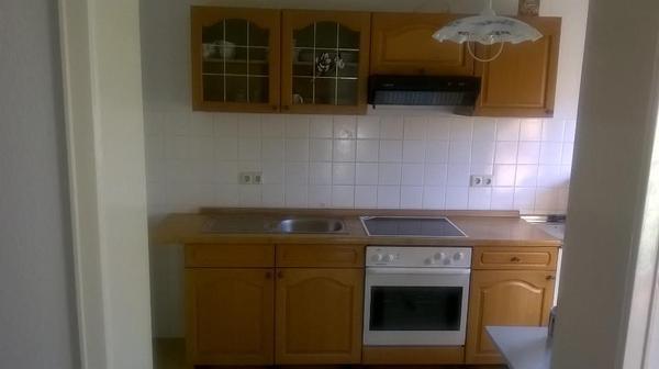 Küchenzeile gebraucht  Küchenzeile gebraucht mit Ceranfeld - Umluftbackofen - Kühlschrank ...