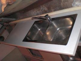 Küchenzeilen, Anbauküchen - Küchenzeilenzubehör Arb Platten Herd Küchentisch
