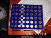 Kursmünzen Satz Finnland 2012