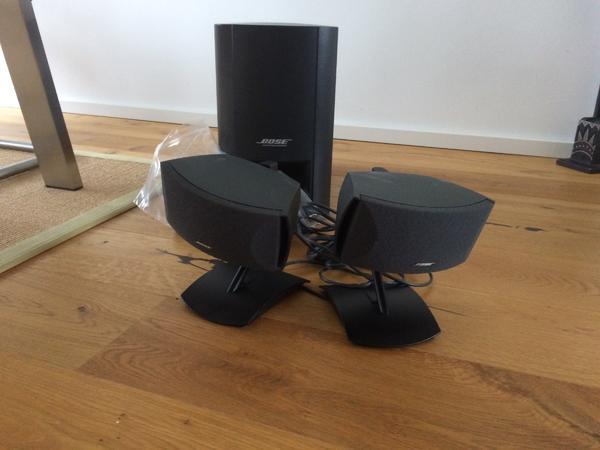 bose lautsprecher system gebraucht kaufen 2 st bis 65 g nstiger. Black Bedroom Furniture Sets. Home Design Ideas