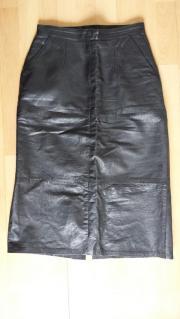 Lederrock aus hochwertigem
