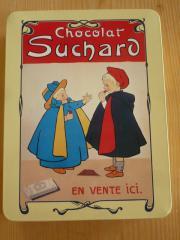 leere Suchard Dose