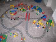 Lego Landschaft aus