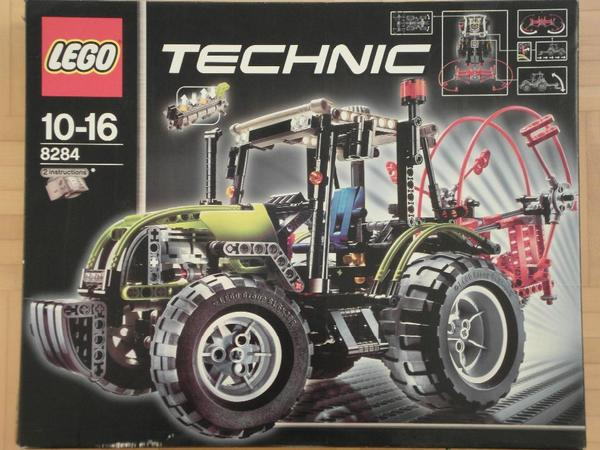 lego technic 8284 gro er traktor bzw buggy sportwagen. Black Bedroom Furniture Sets. Home Design Ideas