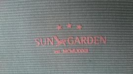 Gartenmöbel - Liegenpolster grün waschbar Sun Garden