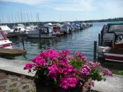 Liegeplatz für Motorboote