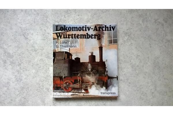 Lokomotiv-Archiv Würtemberg zu verkaufen