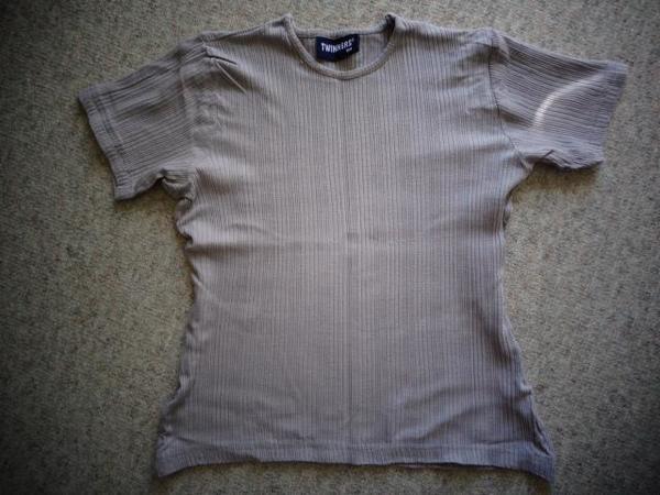Mädchenbekleidung Shirt Rippenshirt Gr 164